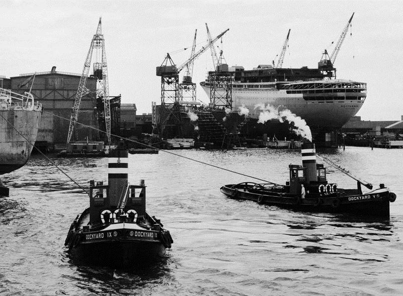 1958 Dockyard IX en V
