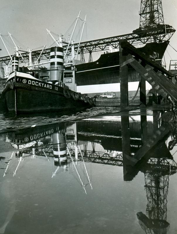Dockyard IX voor het dok