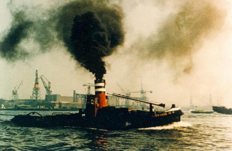 Dockyard IX met de RDM op de achtergrond