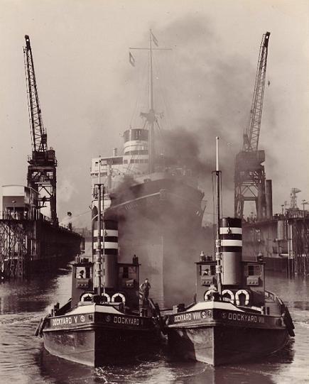 Dockyard V en VIII