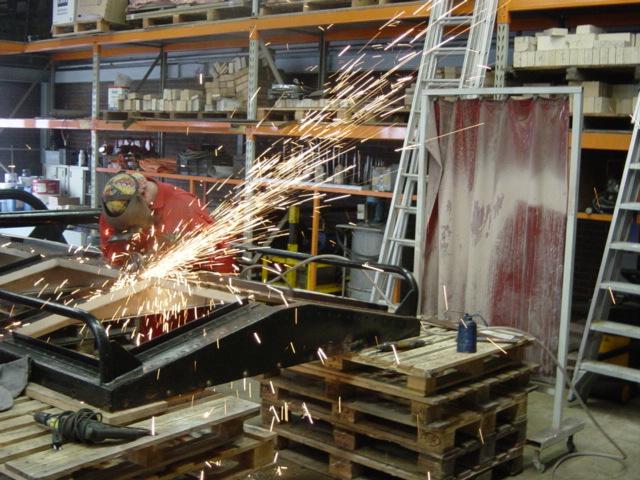 2007 Renovatie machinekamerkap