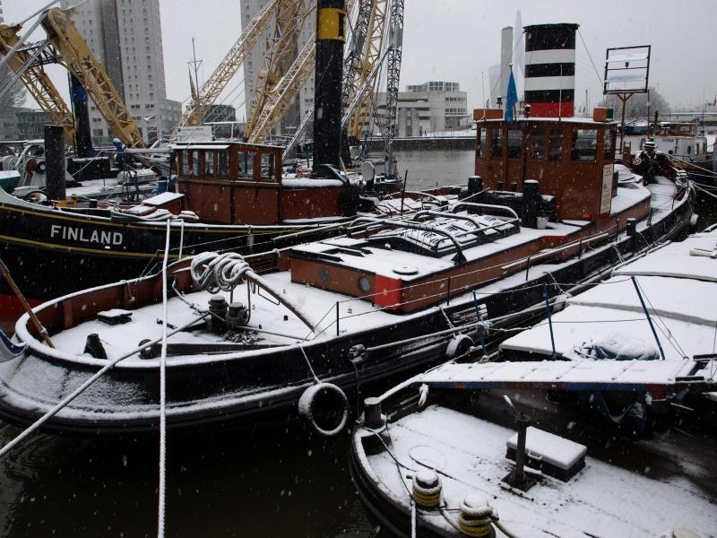 2008 Winter in de Leuvehaven