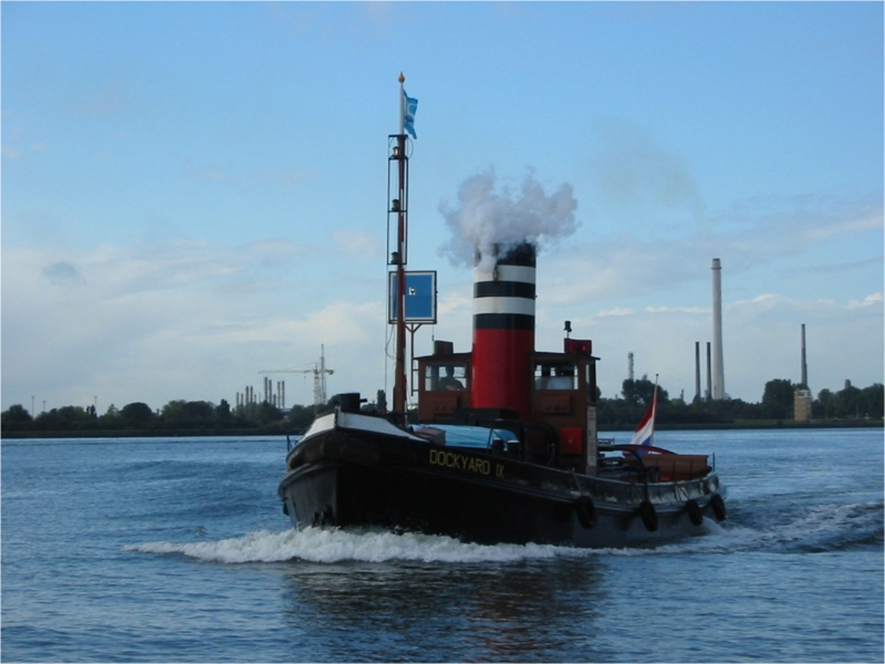 2008 Dockyard IX bij Schiedam